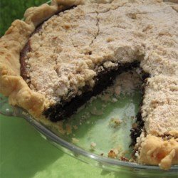 My Grandma's Shoo-Fly Pie Recipe - Brown sugar and molasses sweeten up this Pennsylvania-Dutch classic.