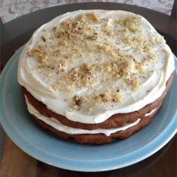 A Memorial Day Carrot Cake Recipe Recipe - This carrot cake uses almond flour and agave nectar.