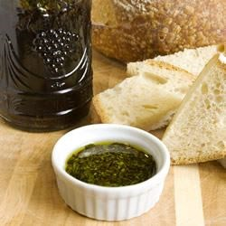 Spicy Oil and Vinegar Bread Dip Recipe - This recipe is fantastic with warm crusty Italian bread, or any other bread for that matter!  Use extra virgin olive oil and really good aged balsamic vinegar. For best results, make a day ahead and store in the refrigerator so flavors can meld.