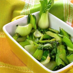 Easy Bok Choy Recipe - The delicate flavor of bok choy shines through in this simple recipe that needs just oil, garlic, and salt.