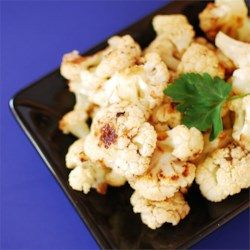 Roasted Balsamic Cauliflower Recipe - This recipe calls for cauliflower to be roasted in a mixture of balsamic vinegar, olive oil, salt, and garlic.