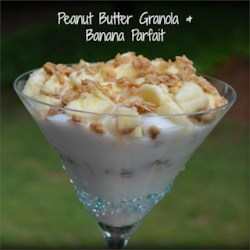 Peanut Butter & Banana Parfait (5pp)