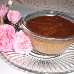 Baked Indian Pudding With Maple Syrup
