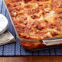 All-Time Favorite Lasagna Recipe - Italian sausage, lots of cheese and sauce, and a slow bake--this lasagna is ready to serve in under 2 hours.