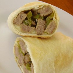 Cheesesteak Chimichanga
