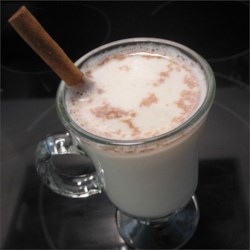 Dreamy Nighttime Drink Recipe - This warm milk flavored with honey, vanilla, and cinnamon will put you right to bed.
