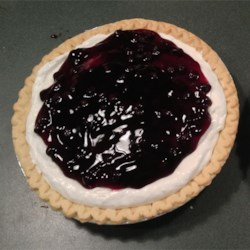 Banana Blueberry Pie Recipe - Light, easy and delicious.  A neighbor brought this recipe to me when I moved into my house 35 years ago and it has been a favorite ever since.
