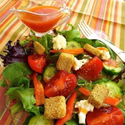 Grandma's French Dressing Recipe - This classic salad dressing can be ready in minutes with a few ingredients you probably already have in your refrigerator or pantry.