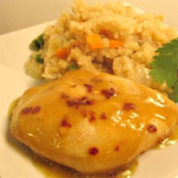 Honey Mustard and Curry Baked Chicken