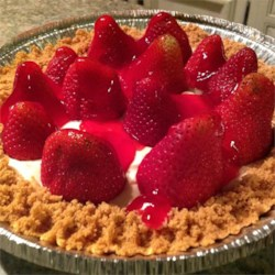 Summery Strawberry Pie