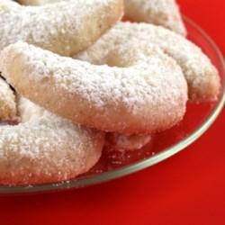 Crescent Cake Cookies