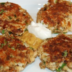 Spicy Tilapia and Feta Fish Cakes