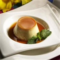 Caramel Flans from EAGLE BRAND(R) Recipe - These classic individual flans are rich and creamy--a perfect dessert for any occasion.