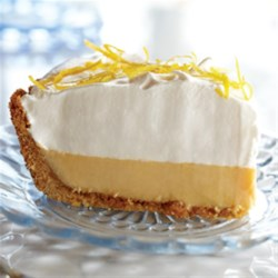 Eagle Brand(R) Lemon Cream Pie Recipe - You'll taste a burst of lemon flavor in every bite of this rich and smooth pie.