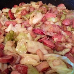 Cabbage and Kielbasa Recipe - This Octoberfest treat is simple to make and so tasty!