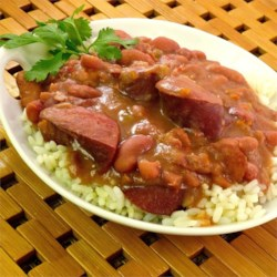 Healthy Red Beans and Rice
