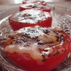 Red, Juicy, Herb-Fried Tomatoes
