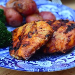 Good Frickin' Paprika Chicken Recipe - A delicious yogurt and paprika marinated grilled chicken.