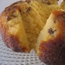 Easy Rum Cake Recipe - This is an easy recipe for a rum-soaked cake filled with walnuts and a rum glaze.