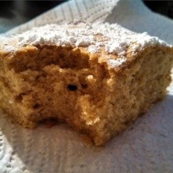 Moist, Tender Spice Cake Recipe - This is a substantial yet tender spice cake that's flavorful enough to serve unadorned.
