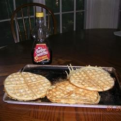 World's Best Waffles Recipe - Light, airy waffles - a real treat!