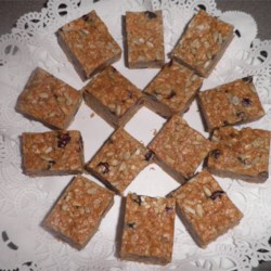 Josephine's No-Bake Granola Bars Recipe - These no-bake granola bars with oats, rice cereal, and coconut make for a quick and yummy way to start your morning.