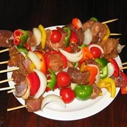 Beef Marinade I Recipe - I use this delicious beef marinade with chuck roast and shish kabobs before grilling.