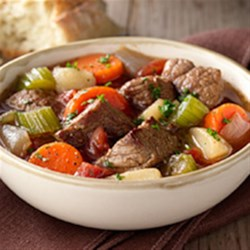 Classic Beef Stew from Birds Eye(R) Recipe - Using prepared hearty stew veggies and beef broth, you can have delicious beef sirloin stew on the table in under half an hour.