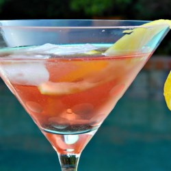 Happy Birthday Martini Recipe - Wish yourself a happy birthday with this refreshing pomegranate martini.