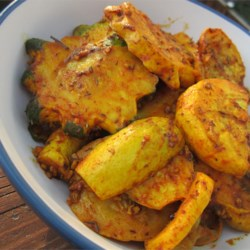Roasted Baby Squash with Paprika and Turmeric