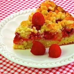 Raspberry-Sour Cream Crumb Cake