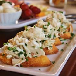 Crab and Lemon Bruschetta
