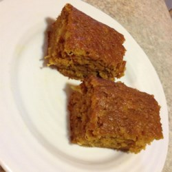 Fantastic Pumpkin Bars
