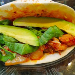 HERDEZ(R) Lobster Tacos Recipe - Rich, tender lobster meat gives these easy, quick wraps a gourmet touch.