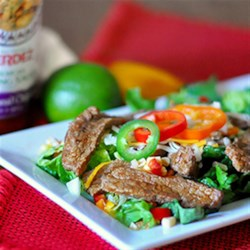 HERDEZ® Southwest Chipotle Salad with Fresh Corn Salsa