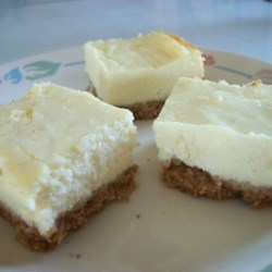 Cheesecake Bars Recipe - Rich and creamy as cheesecake, but much easier to make!
