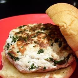 Goat Cheese and Spinach Turkey Burgers Photos - Allrecipes.com