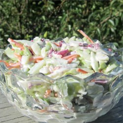 Greek Yogurt Coleslaw Recipe - Use nonfat Greek-style yogurt to slim down your coleslaw recipe.