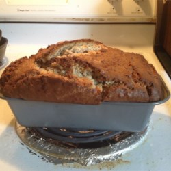 Family Banana Nut Bread Recipe Recipe - The cream cheese gives this delightful banana nut bread an added bit of moisture.