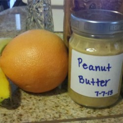 Amber's Peanut Butter Recipe - Make your own peanut butter at home using your food processor. This has a great natural peanut flavor that peanut butter lovers are sure to enjoy. If using unsalted peanuts, you may want to add some salt.