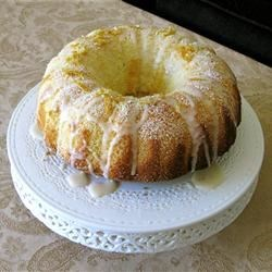 Orange Chiffon Cake Recipe - This is a very good cake, and a large cake at that.