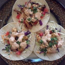 Grilled Fish Tacos with Chipotle-Lime Dressing photo by Wanda ...