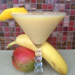 Coconut Banango Smoothie