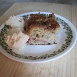 Allrecipes Recipe  Omas Rhubarb Cake