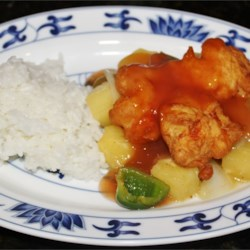 Stir-Fried Sweet and Sour Chicken