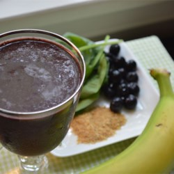 Dr. Fuhrman chocolate smoothie