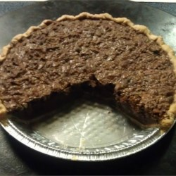 Chocolate Pecan Pie VI Recipe - The best chocolate pecan pie you will ever try.  I used to sell this pie to a restaurant and the customers had nothing but praise for it.