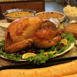 Homestyle Turkey, the Michigander Way Recipe and Video - Here's a simple recipe for preparing the holiday bird. It will be tasty and perfectly browned every time!