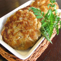 Easy Tuna Patties Recipe - Serve these crispy tuna patties as an appetizer or make delicious hot sandwiches.
