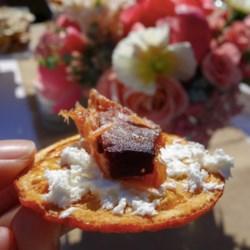 Simple & Crisp Orange with Smoked Salmon & Cream Cheese